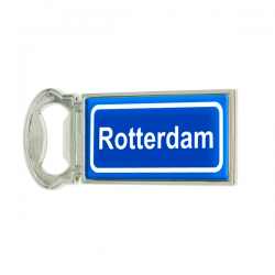 MAGNET BOTTLE OPENER ROTTERDAM STREET SIGN