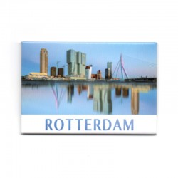 MAGNET PHOTO ROTTERDAM SKYLINE MIRROR DAY