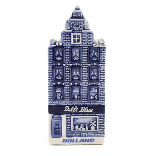 MAGNET DELFT BLUE CANAL HOUSE HOLLAND SHOP