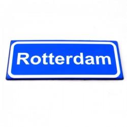 FRIDGE MAGNET ROTTERDAM STREET SIGN