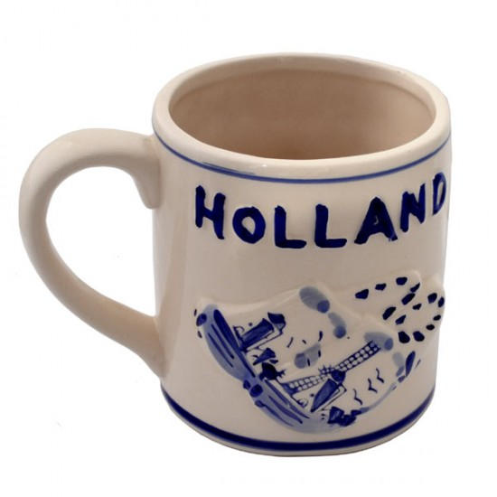 MUG DELFT BLUE CLOGS RELIEF