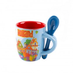 ESPRESSO MUG SMALL HOLLAND COMPILATION SPOON