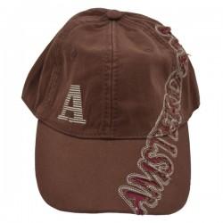 BASEBALL CAP BROW DARK RED CHARS AMSTERDAM ROBIN RUTH