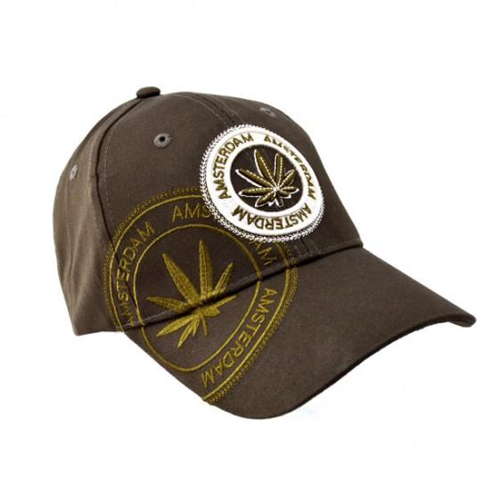 Baseball cap amsterdam weed cannabis