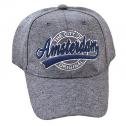 BASEBALL CAP AMSTERDAM GREY CITY ORIGIAL ROBIN RUTH