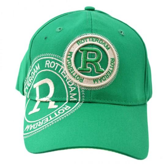 Baseball cap rotterdam green robin ruth