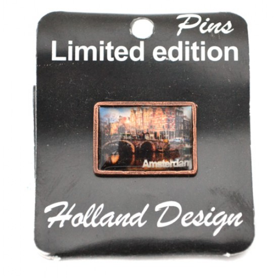 Pin broche amsterdam schemer