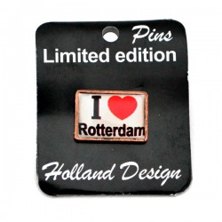 STICK PIN LOVE ROTTERDAM WHITE