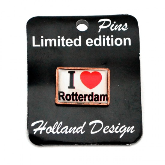 Pin love rotterdam wit epoxy