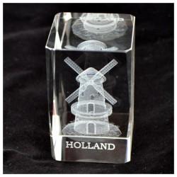 PAPER PRESS GLASS LASER WINDMILL HOLLAND