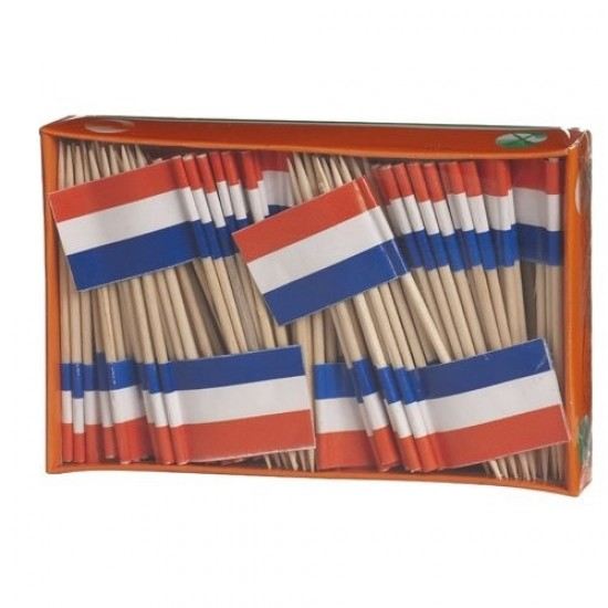 COCKTAIL STICKS DUTCH FLAG