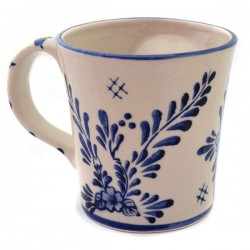MUG DELFT BLUE CANAL HOUSES 3D FLOWER