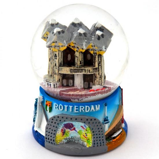 Schneekugel Rotterdam