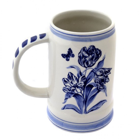 BEER MUG DELFT BLUE WINDMILL