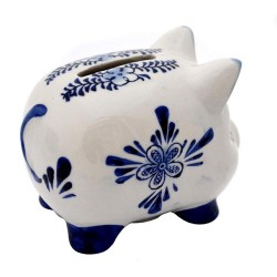 PIGGY BANK DELFT BLUE SMALL