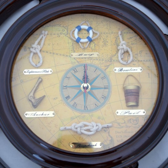 STEERING WHEEL CLOCK ANTIQUE MODEL