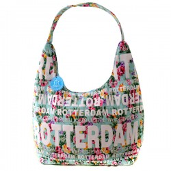 SHOULDER BAG JULIA FLOWERS ROTTERDAM MINT GREEN ROBIN RUTH