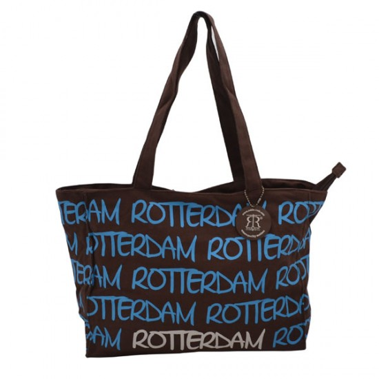 SCHOULDER BAG ROTTERDAM BROWN KATIE LARGE