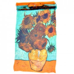 SHAWL VAN GOGH SUNFLOWERS ROBIN RUTH