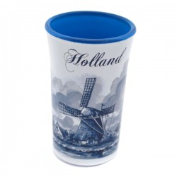 SHOT GLASS HOLLAND BLUE