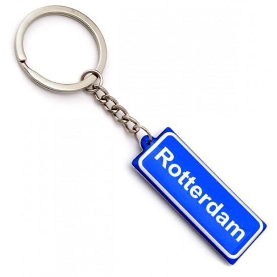 Keychain street sign rotterdam