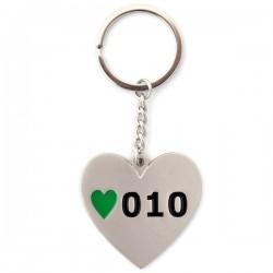 KEYCHAIN ROTTERDAM HEART 010