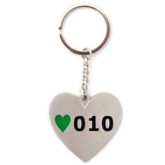 Schlüsselanhänger rotterdam 010 herz