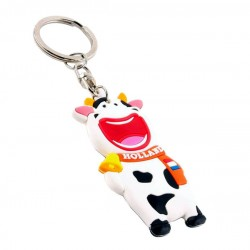KEYCHAIN SMILING COW HOLLAND