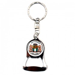 KEYCHAIN BOTTLE OPENER ROTTERDAM CITY LOGO HOLLAND