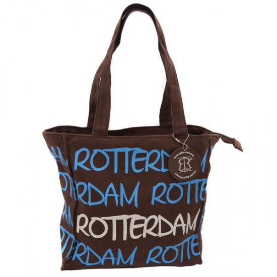 SCHOULDER BAG ROTTERDAM BROWN KATIE SMALL