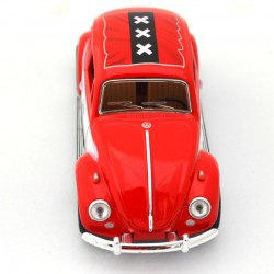 MINIATURE VOLKSWAGEN BEETLE LOVE AMSTERDAM RED