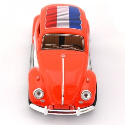 MINIATURE VOLKSWAGEN BEETLE LOVE HOLLAND ORANGE