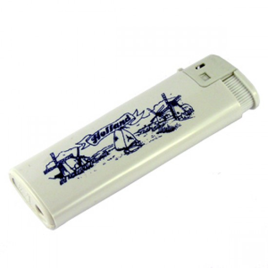 LIGHTER HOLLAND DELFT BLUE PRINT