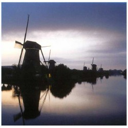 POSTCARD HOLLAND 15 x 15 CM - 2811