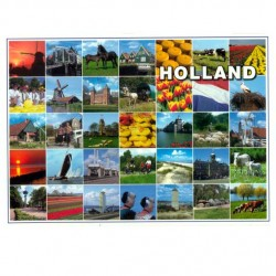 POSTCARD HOLLAND A6 - 23065