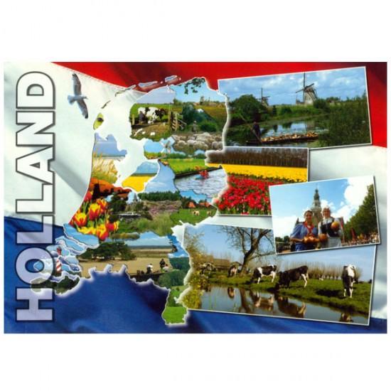 POSTCARD HOLLAND A6 - 25373