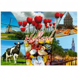 POSTCARD HOLLAND A6 - 25707