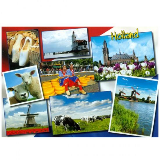 ANSICHTKAART HOLLAND A6 - 25709