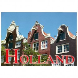 POSTCARD HOLLAND A6 FACADES - ST617