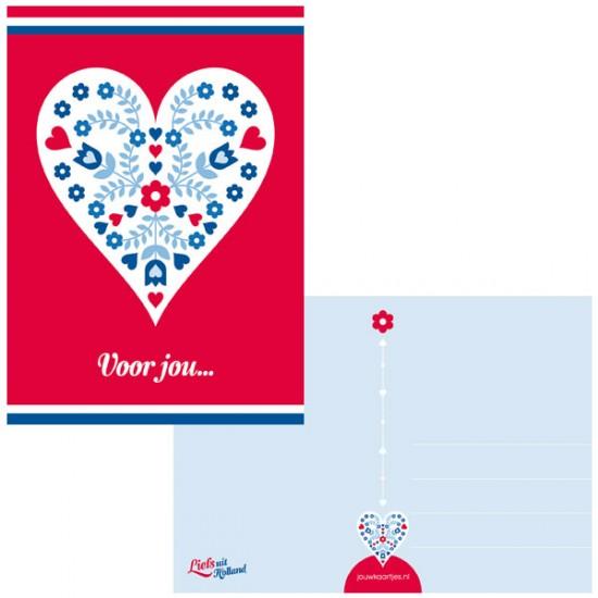 Ansichtkaart holland voor jou