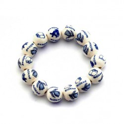 BRACELET KIDS DELFT BLUE BEADS