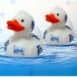 BATH DUCK DELFT BLUE