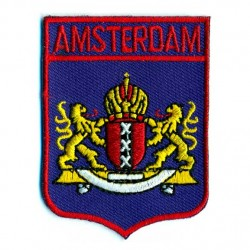 BADGE PATCH AMSTERDAM CITY LOGO