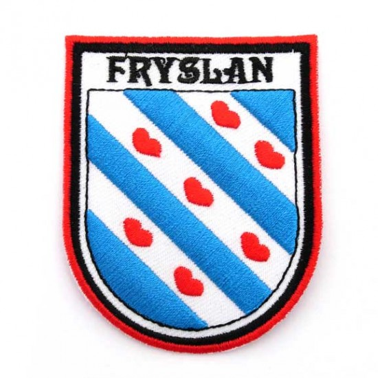 Badge mouw-embleem patch fryslan friesland