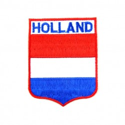 BADGE PATCH FLAG HOLLAND 6.5 x 5 CM