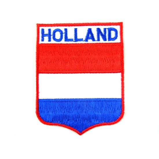 Badge emblem abzeigen holland 6.5 x 5 cm