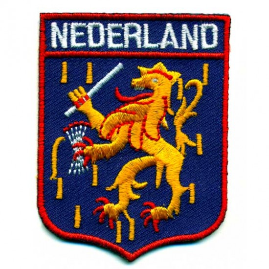 BADGE SLEEVE EMBLEEM ARMS NETHERLANDS