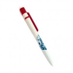 BALLPOINT HOLLAND WINDMILL BLUE RED