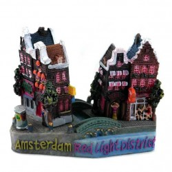 FIGURINE / MAGNET AMSTERDAM REDLIGHT DISTRICT 3D