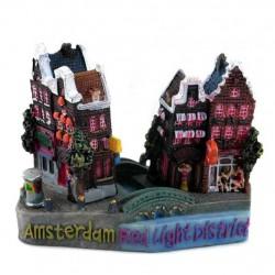 FIGURINE / MAGNET AMSTERDAM REDLIGHT DISTRICT 3D